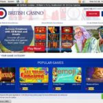 All British Casino Free Code