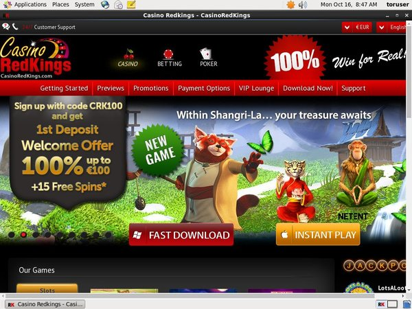 Casino RedKings Mobile Poker