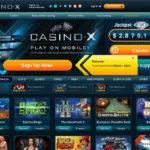 Casinox Transfer Money