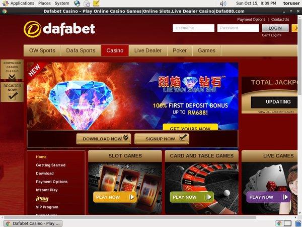 Dafabet Bonus Deal