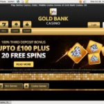 GoldBank Casino Offer Paypal?
