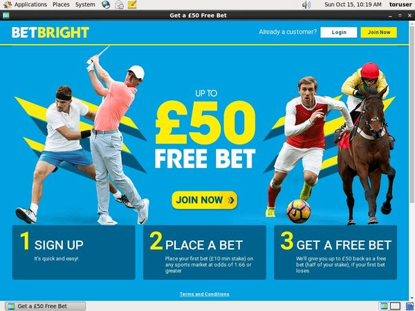 Gratis Bet Bright