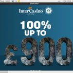InterCasino UK Welcome Package