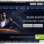 Lincoln Casino Register Bonus