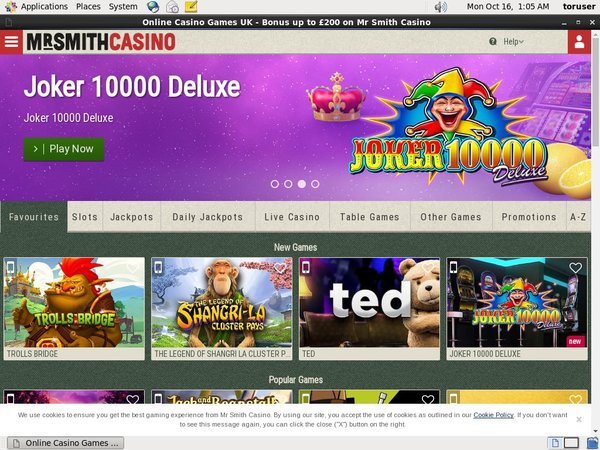Mr Smith Casino Sign Up Bonuses