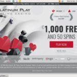 Platinum Play Eps Deposit