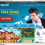 Play Million Casinos Bonus