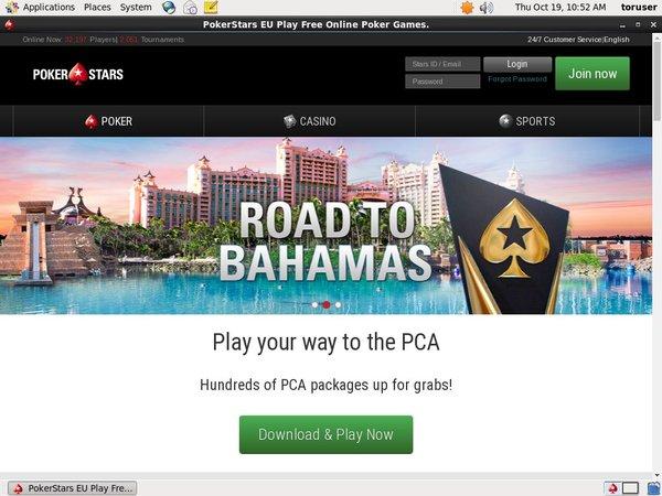 Poker Stars New Account Offer