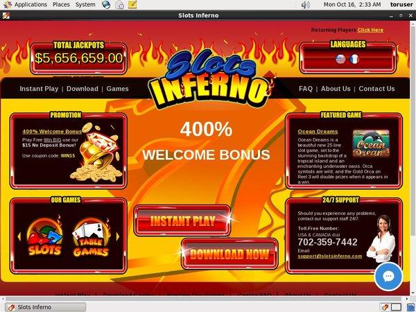 Rewards Slots Inferno