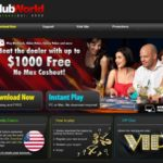 Signup Bonus Clubworldcasinos