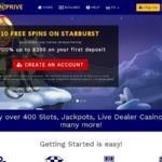Spinprive Start Account