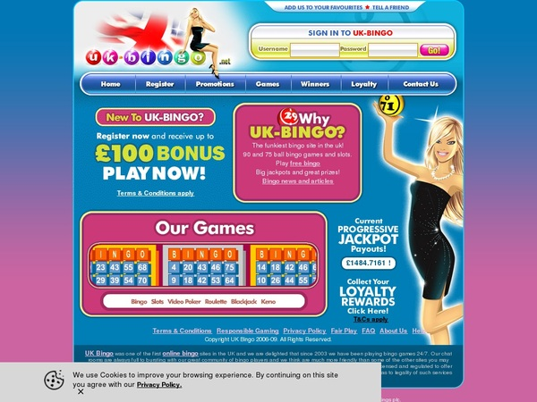 UK-Bingo Online Casino Jackpot