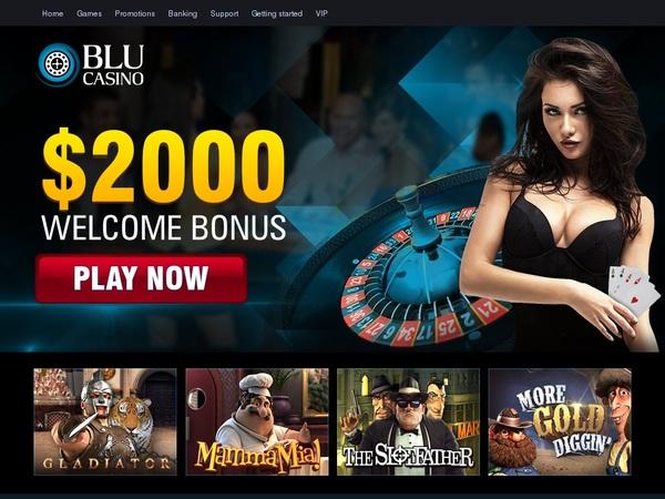 Blu Casino Code