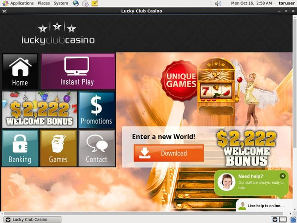 Lucky Club Casino Free Spins Starburst