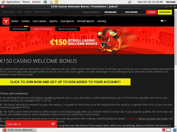 Jetbull Sign Up Bonuses
