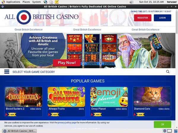 All British Casino Poker App
