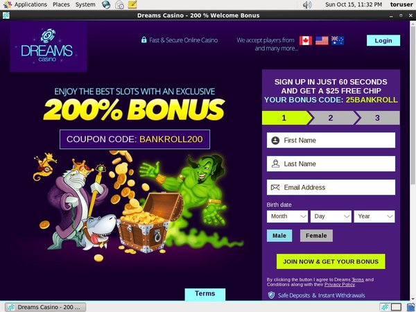 Dreams Casino Android App