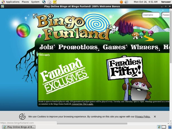 Bingo Funland Welcome Bonus Offer