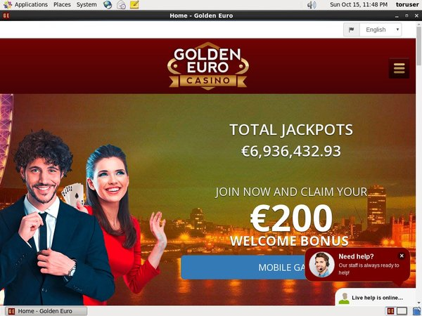 Golden Euro Casino Comps