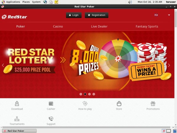 Deposit Limit Red Star Poker