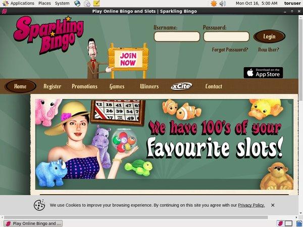 Sparkling Bingo Lottery