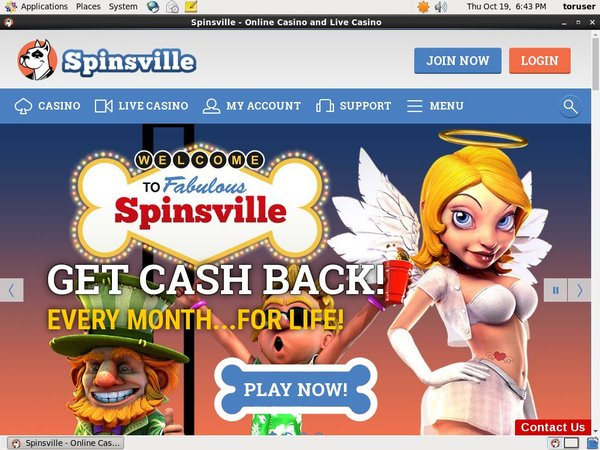 Download Spinsville App
