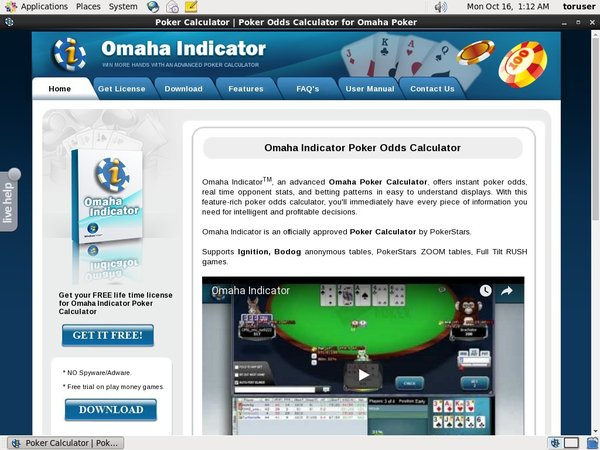 Omaha Indicator Join Page
