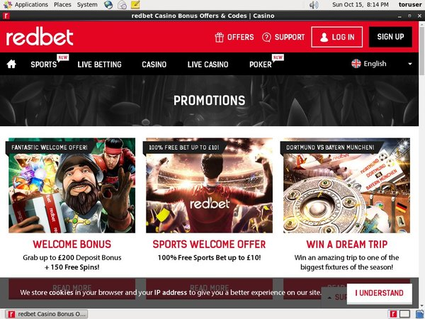 Redbet Join Promo