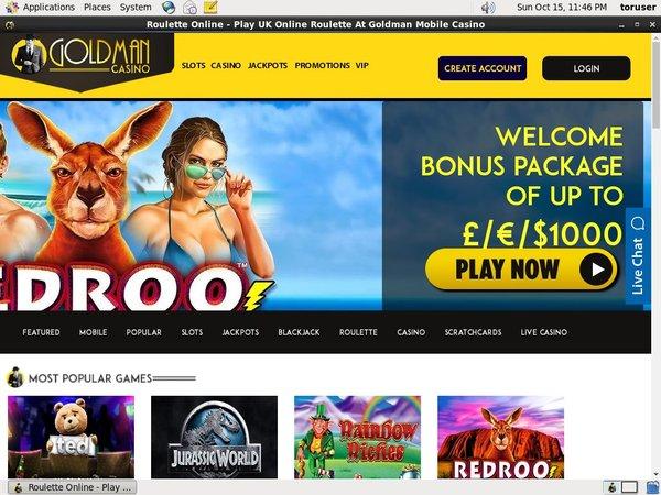 Goldman Casino Free Poker