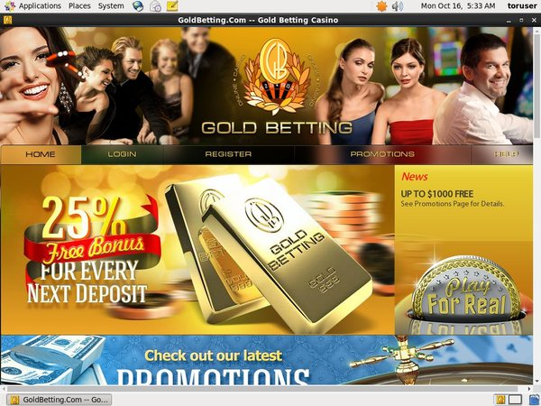 Gold Betting Poker