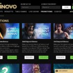 Join Casinovo Promotions