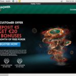 Paddy Power Poker Number