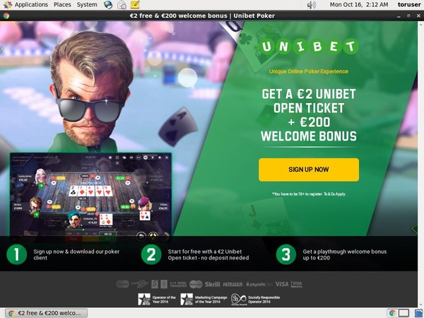 Unibet Sports Deposit Money