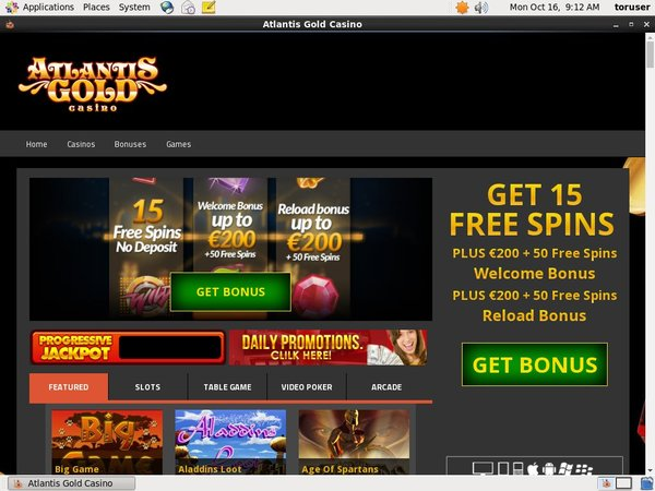 Atlantisgold Online Casino Reviews