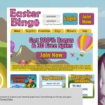 Easter Bingo With Visa Card