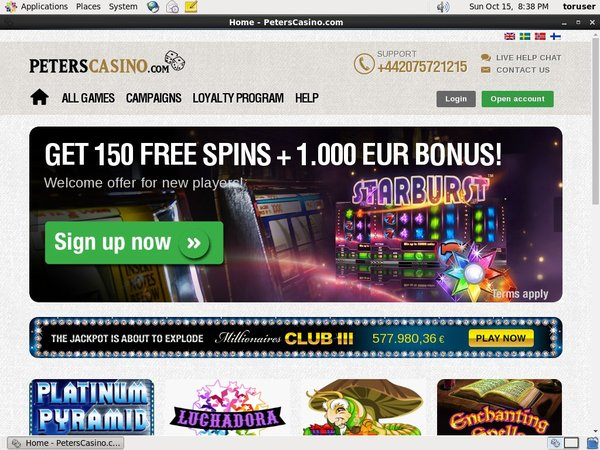 Live Casino Uk Peters Casino
