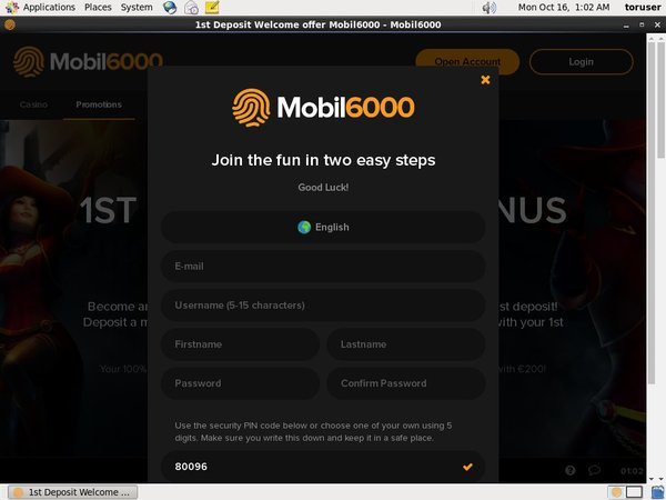 Mobil6000 Betting Offers