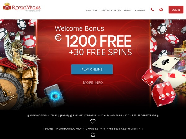 Royal Vegas Casino Kampanjer