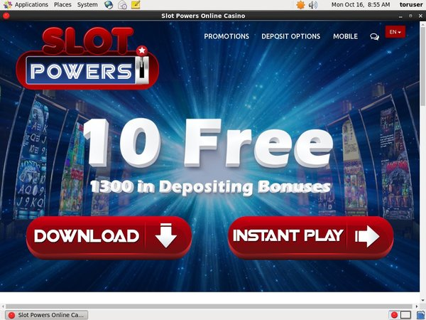 Slotpowers Registration Page