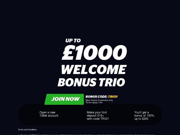 10bet Online Casino Schweiz