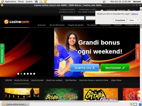 Casino.com SoFORT