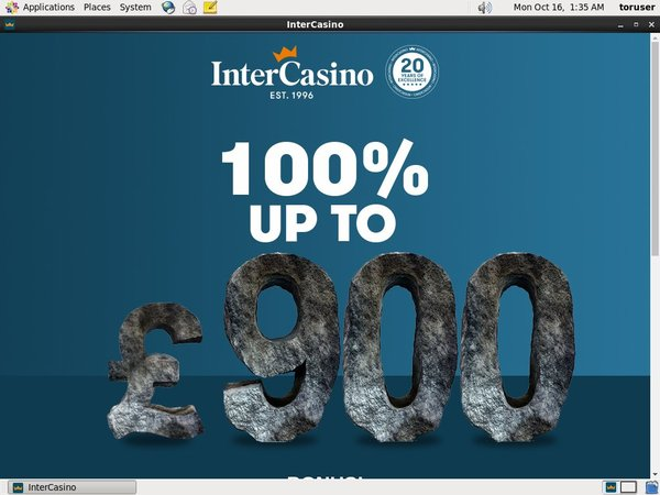 Intercasino Free Bet Terms