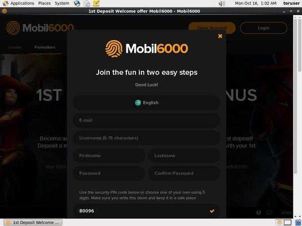 Mobile Deposit Mobil6000