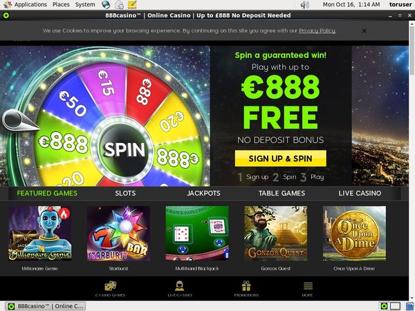 888casino Free Bet Rules