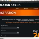 Gold Run Casino Kasino Bonus
