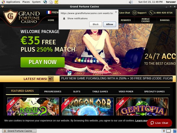 Grand Fortune Casino Primeslots