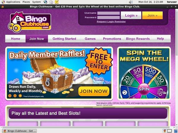 Bingo Clubhouse Play Online Casino