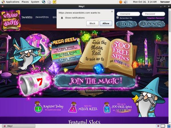 Wizard Slots No Deposit Casino