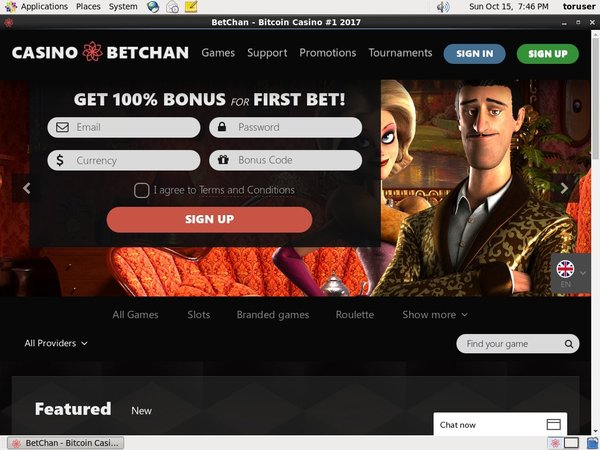 Betchan Player Account