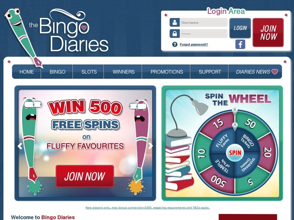Bingodiaries Pay By Phone